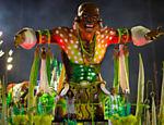 Desfile da Imperatriz Leopoldinense no segundo dia do Carnaval do Rio de Janeiro na Sapucaí <a href=