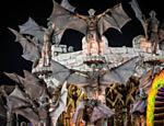 Desfile da Unidos da Tijuca no segundo dia do Carnaval do Rio de Janeiro na Sapucaí <a href=