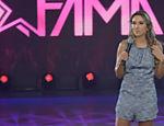 Patricia Abravanel apresenta a nova temporada do 'Máquina da Fama', no SBT