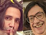 Latino faz chapinha e fica parecendo Beiçola (Marcos Oliveira) da