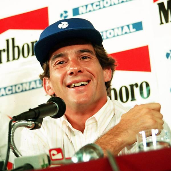 McLaren/Honda de Senna