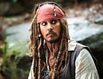 Johnny Depp como Jack Sparrow em
