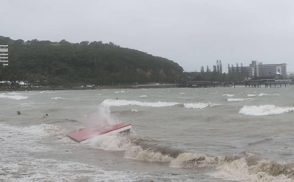 Ciclone atinge Vanuatu