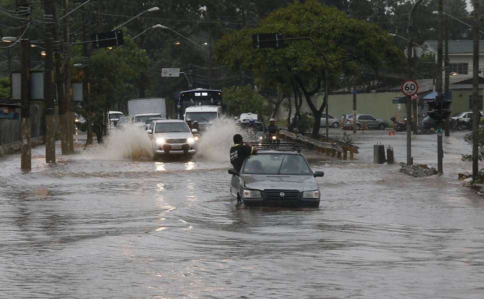 Chuva em S�o Paulo