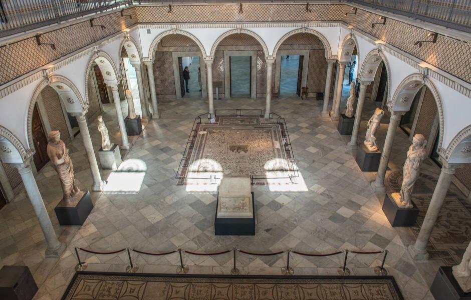 Museu do Bardo, em Túnis