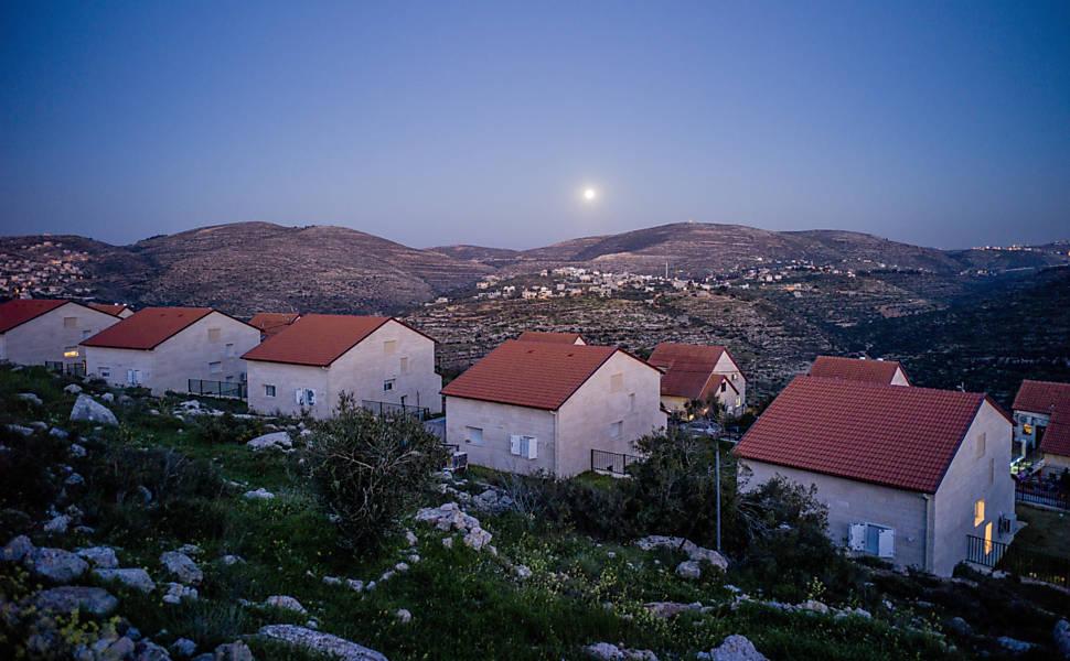 Políticas de assentamento de Netanyahu