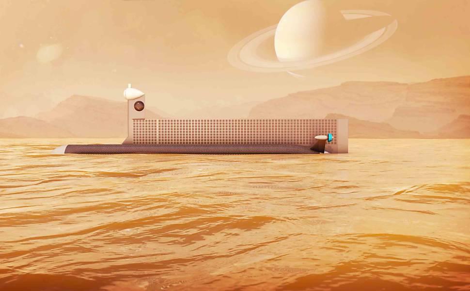 Nasa prevê envio de submarino para Titã