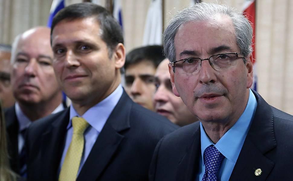 Protesto contra Cunha