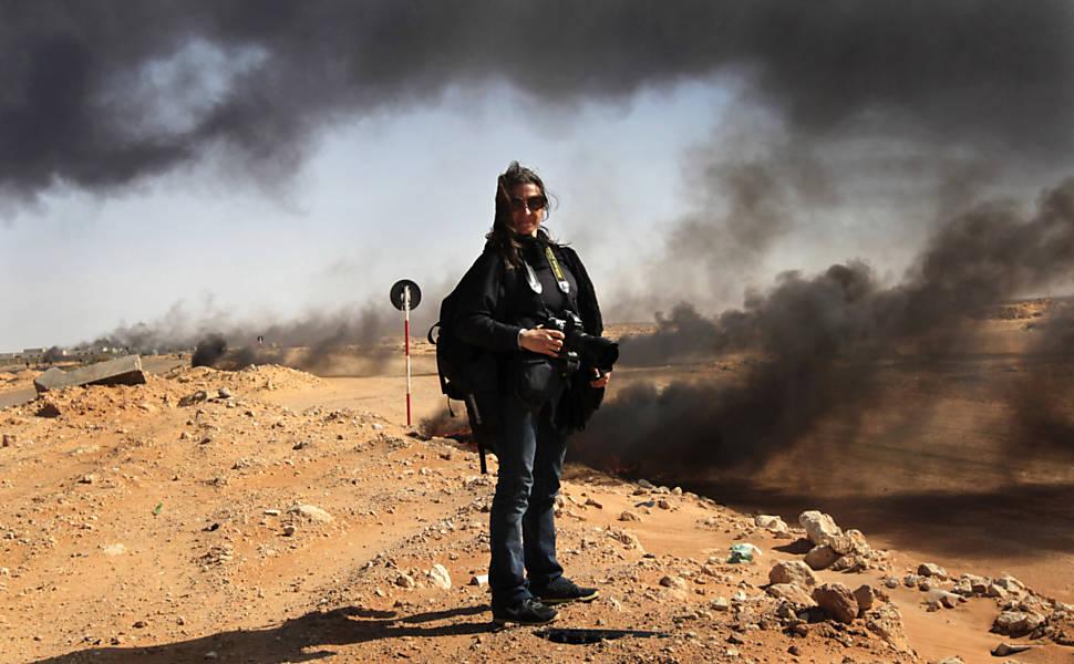 Linsey Addario, fotógrafa de guerra