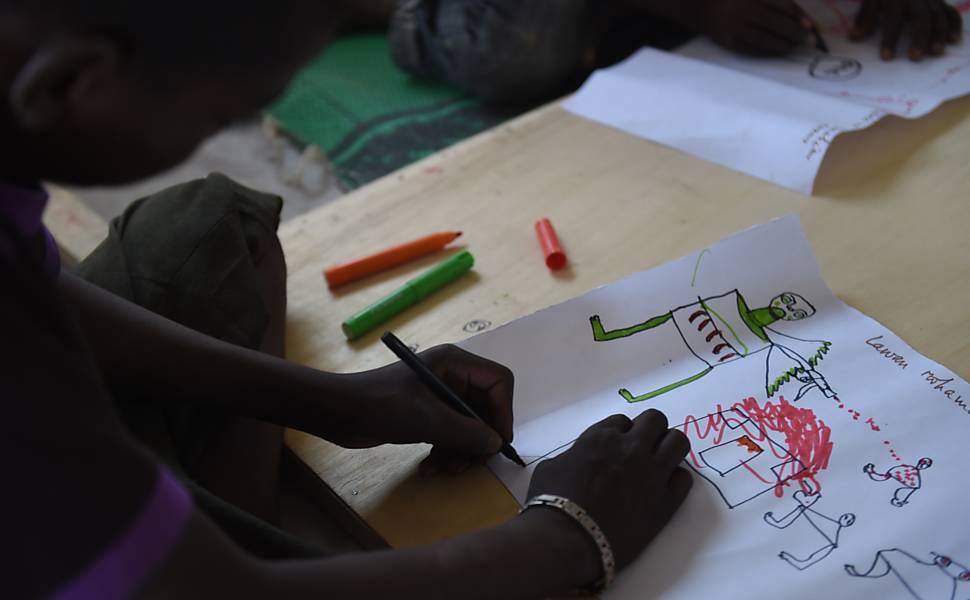 O Boko Haram nos olhos de crianças refugiadas
