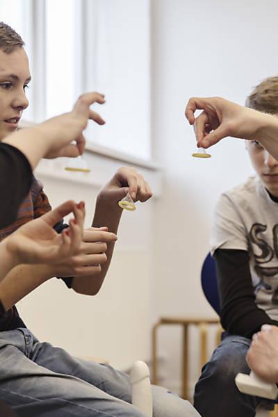Aulas de educação sexual em Copenhague