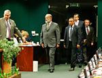 Vaccari Neto chega para depor à CPI da Petrobras