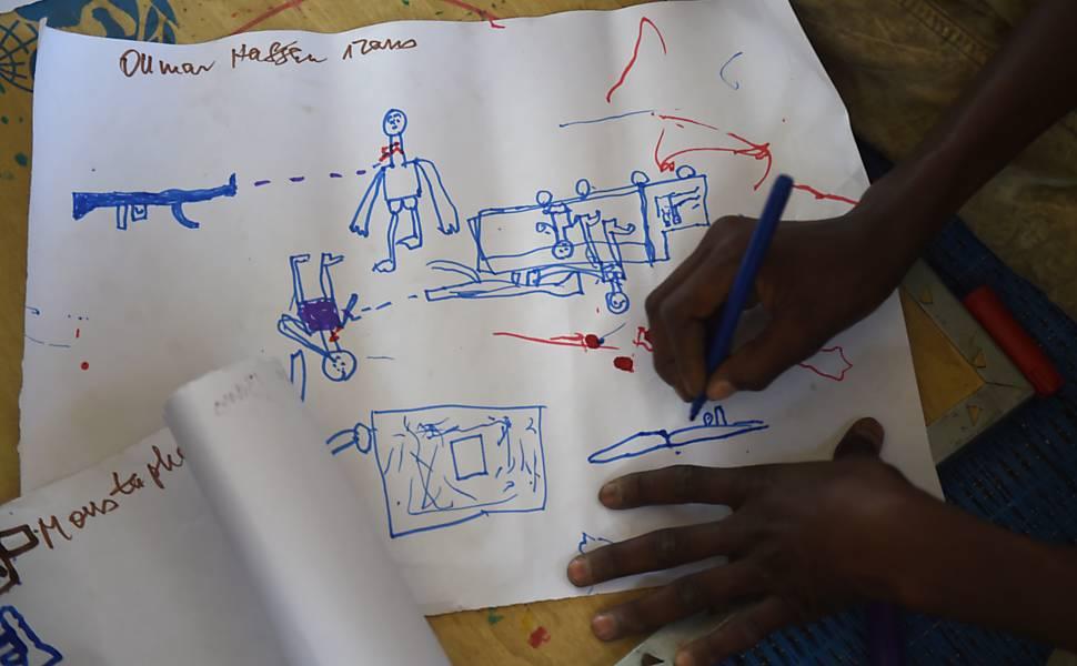 O Boko Haram nos olhos de crian�as refugiadas