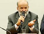 O ex-tesoureiro do PT João Vaccari Neto durante depoimento