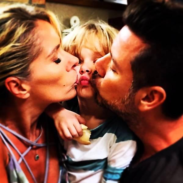 Dia do Beijo dos famosos