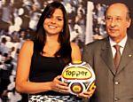 Carolina Galan apresenta a bola do Paulista-2010