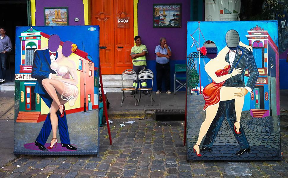 Veja fotografias das ruas de Buenos Aires