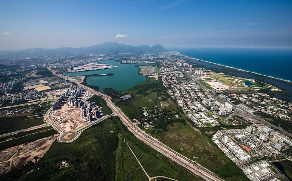 Instalações olímpicas da Rio-2016 - abril