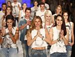 Último desfile da top Gisele Bündchen pela marca Colcci na São Paulo Fashion Week de 2015