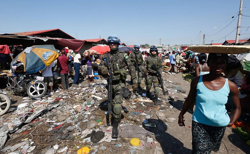 Missão de paz da ONU no Haiti