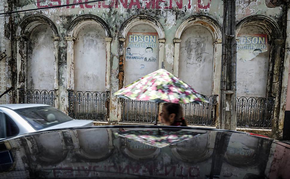 Casarões abandonados em São Luís