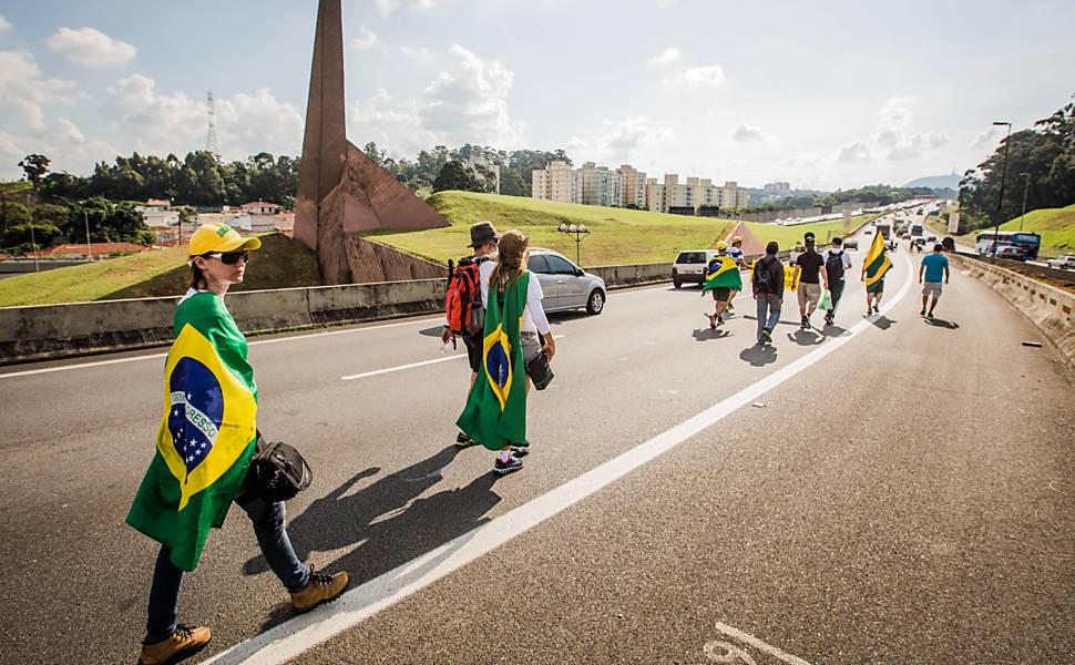 Marcha por impeachment de Dilma