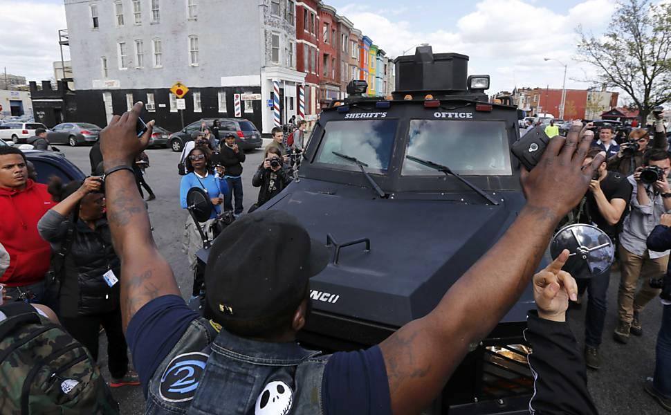 Protesto em Baltimore
