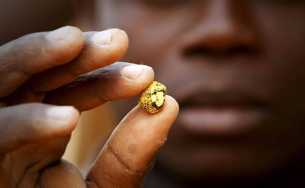Exploração de ouro na Costa do Marfim