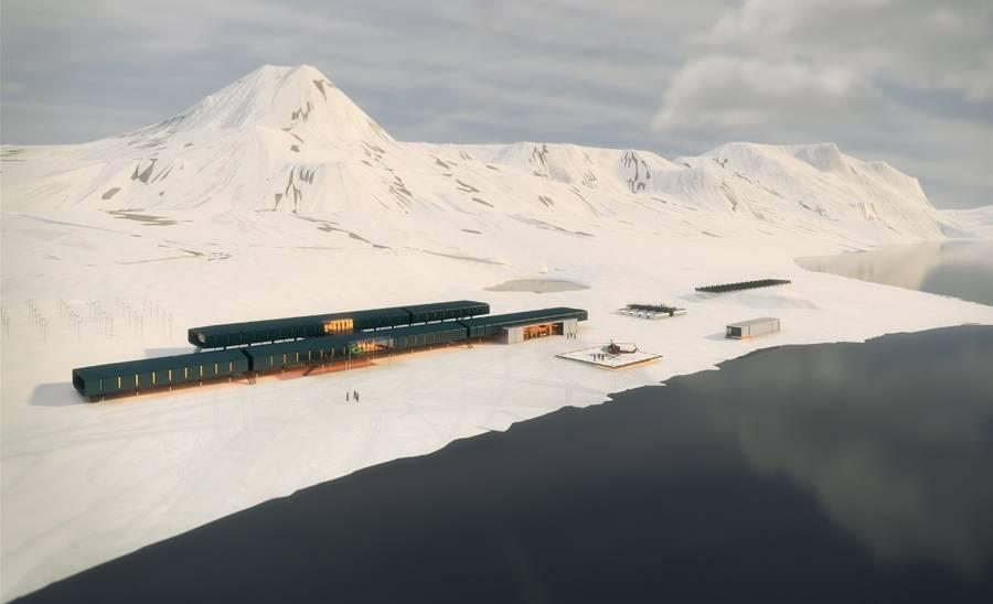 Projeto estação Antártica Comandante Ferraz