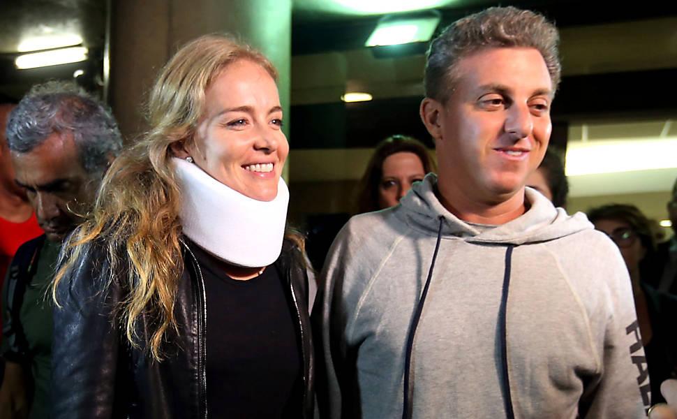 Avião com Luciano Huck, Angélica e filhos faz pouso forçado