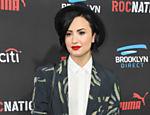 Demi Lovato chega a 'Roc Nation Pré-Grammy Brunch', na Califórnia