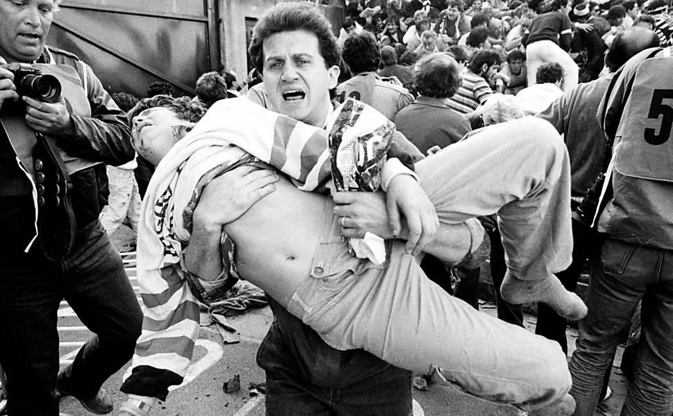 30 anos da tragédia de Heysel