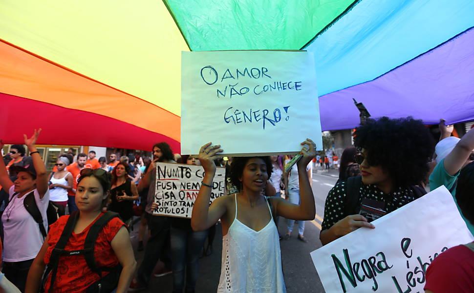 Marcha das mulheres lésbicas e bi