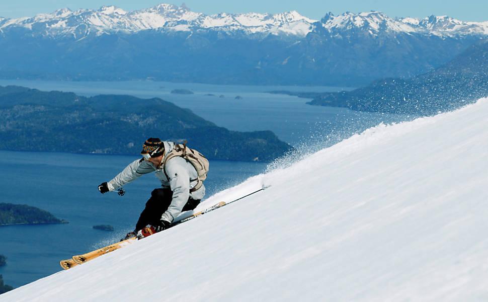 Esqui na Argentina e no Chile