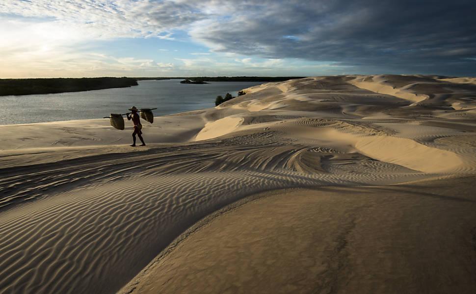 Praias no Nordeste