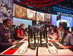 Feira de entretenimento eletrônico E3, no Centro de Convenções de Los Angeles, na Califórnia (EUA); a maior feira do gênero no mundo chega a sua 20ª edição