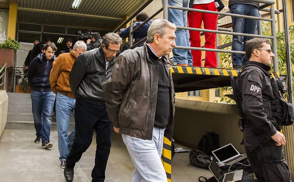 PF prende chefes de Odebrecht e Andrade Gutierrez, em 2015