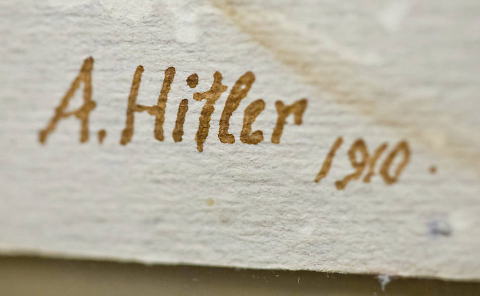 Aquarelas de Hitler