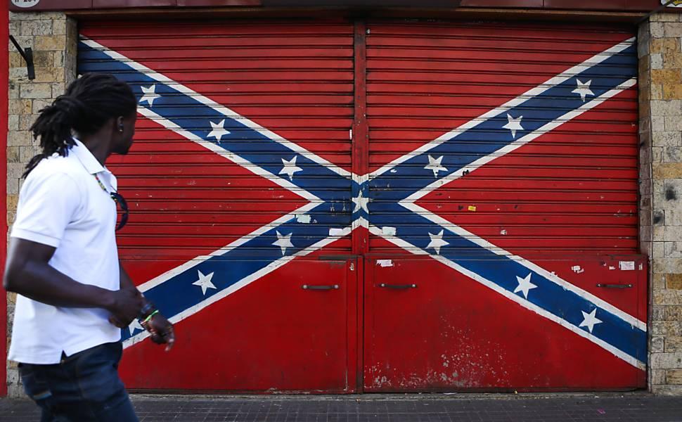 Bandeira confederada em SP