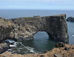 Mirante em praia no sul da Islândia faz parte de roteiro inspirado nas gravações de 'Game of Thrones'