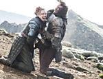 A batalha entre Brienne e Sandor Clegane, o Cão, foi uma das cenas gravadas em Thingvellir, na Islândia