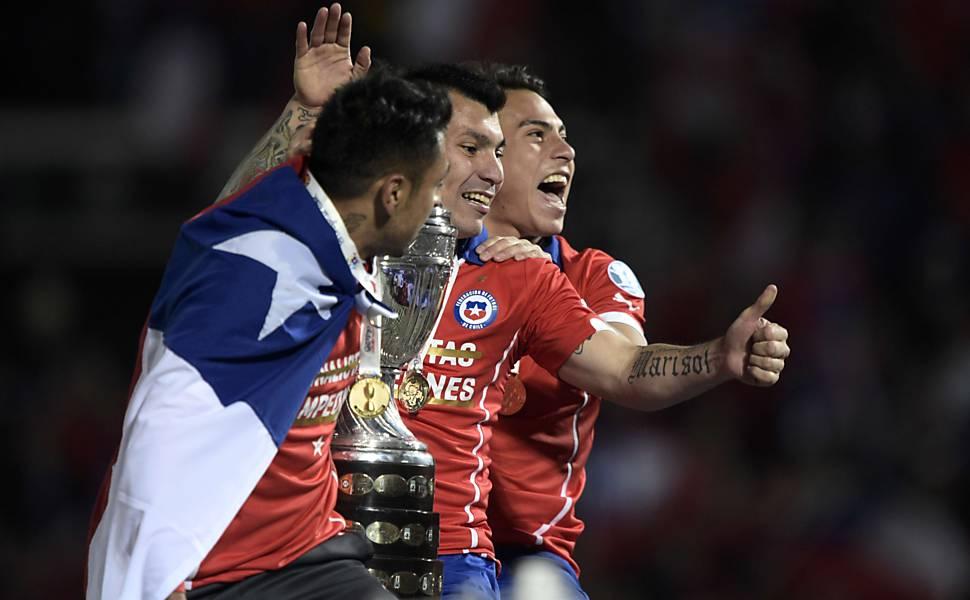Final da Copa América de 2015 entre Chile e Argentina