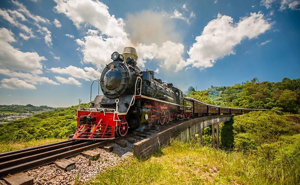 Passeios de trem são revitalizados no Brasil