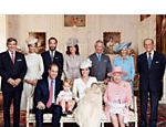 O Palácio de Kensington, residência oficial do príncipe William e da duquesa de Cambridge, Kate Middleton, divulga fotos oficiais do batizado da filha do casal, a princesa Charlotte