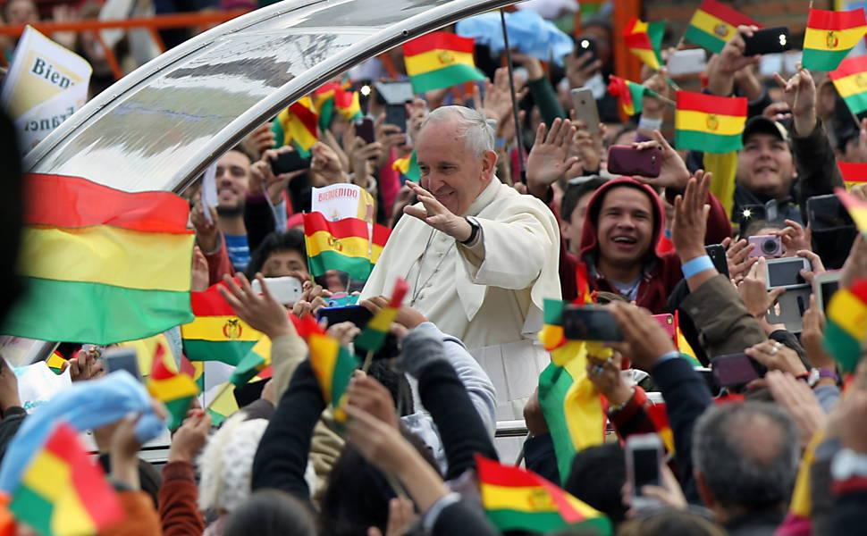 Visita do papa Francisco à Bolívia