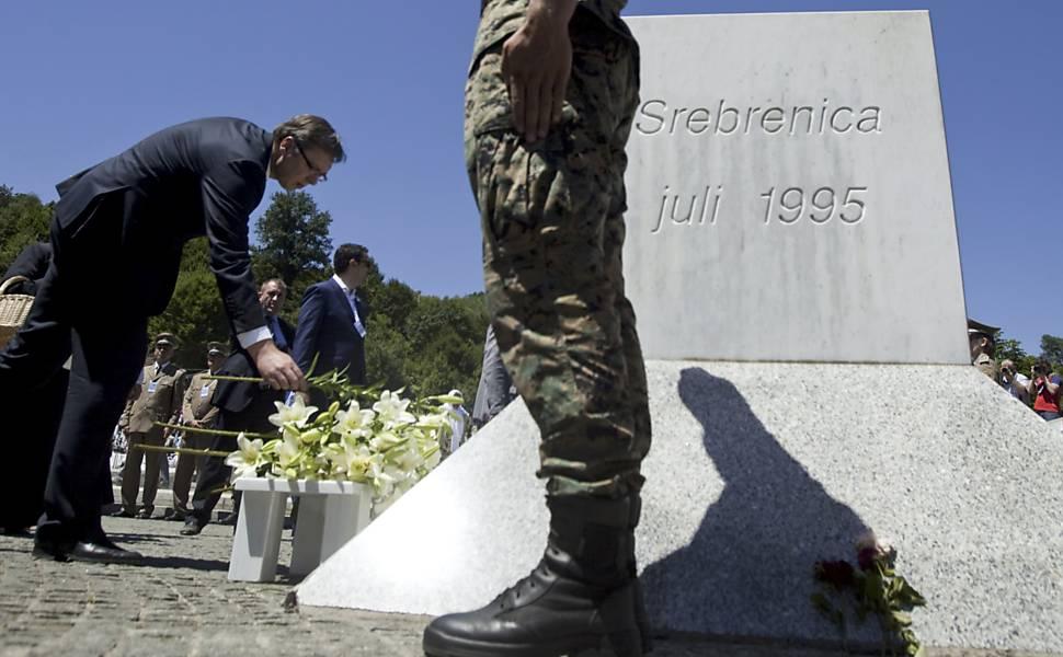 Vinte anos do massacre de Srebrenica