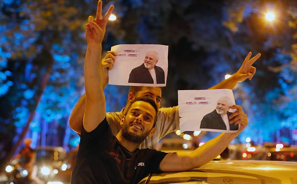 Acordo nuclear com o Irã, em 2015