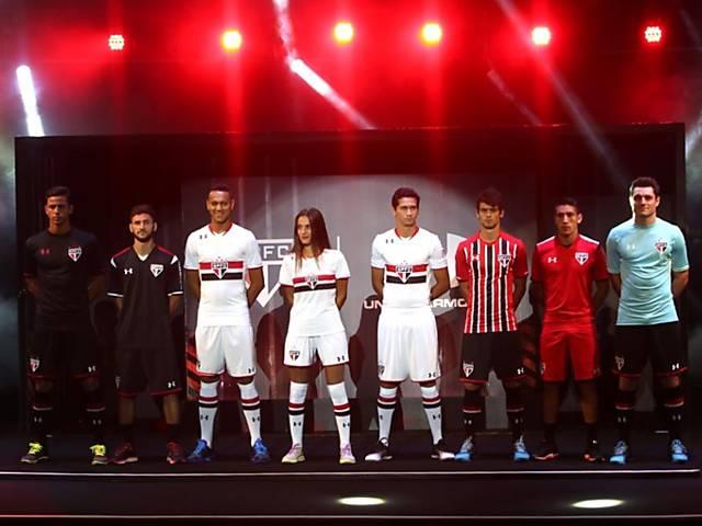 Apresentação do novo uniforme do São Paulo