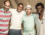 Fundadores do Samba da Vela (da esq. para a dir.): Paquera (morto em 2014), Maurilio de Oliveira, Chapinha e Magnu Sousá
