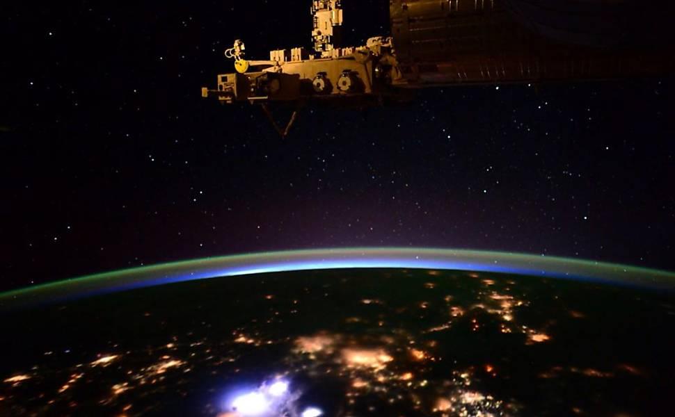 Fotos da Terra feitas do espaço
